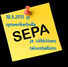 SEPA 2011 seminaari 18.5.2011 upseerikerholla