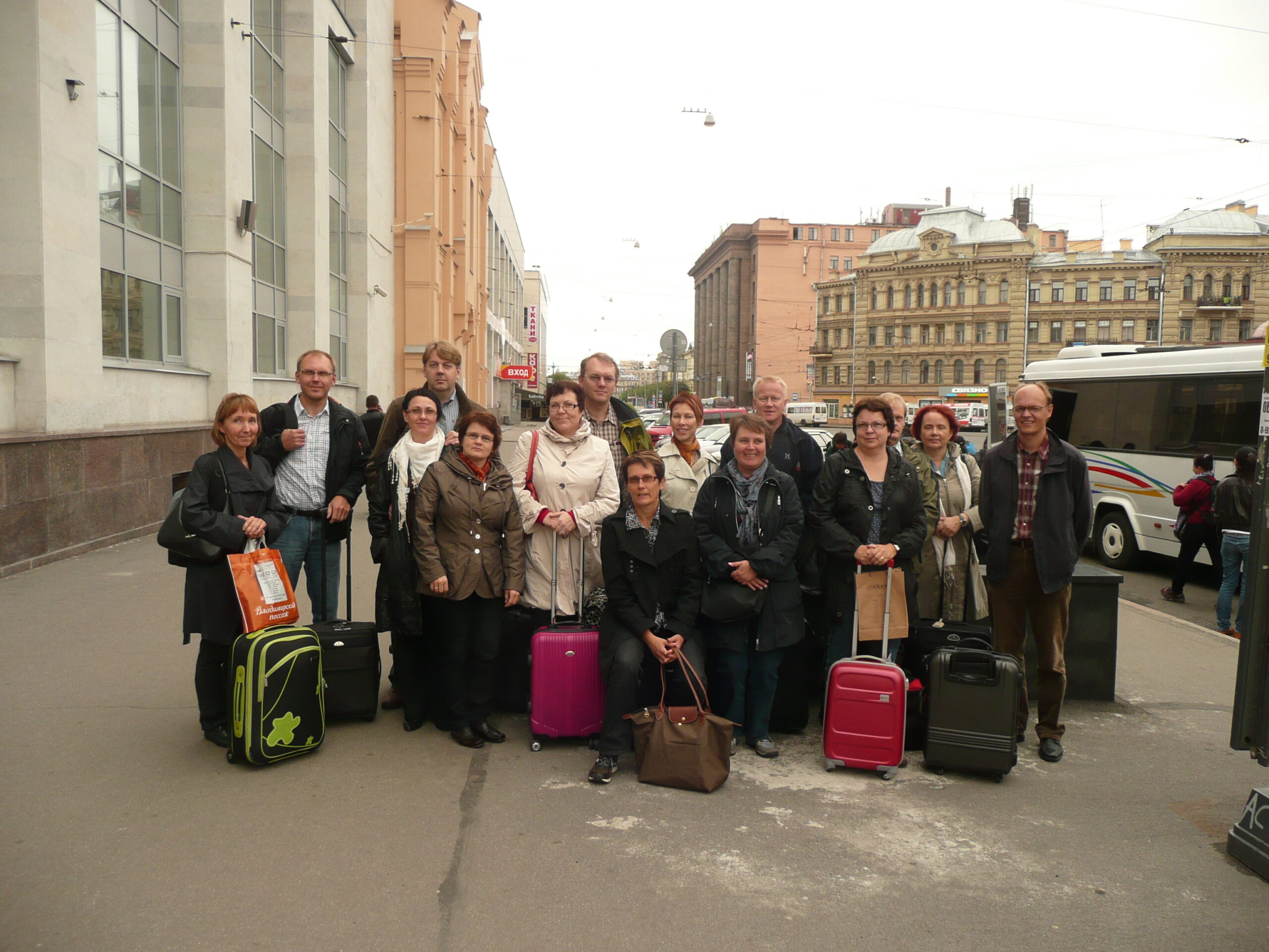 ESATKY - kunnon viikonloppu 2011 Pietarissa
