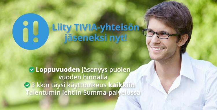 Liity Tivia-yhteisön jäseneksinyt!