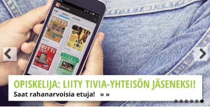 Opiskelija: Liity Tivia-yhteisön jäseneksi