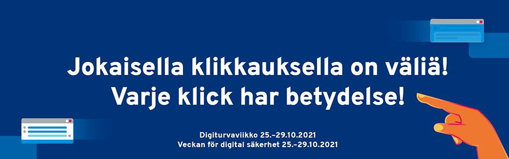 Digi- ja väestötietovirasto (DVV) & kansallinen Digiturvaviikko 25.–29.10.2021